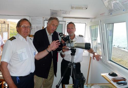 Julian Brazier M.P. for Canterbury visits Whitstable NCI