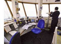 photo inside the Calshot Ops Room