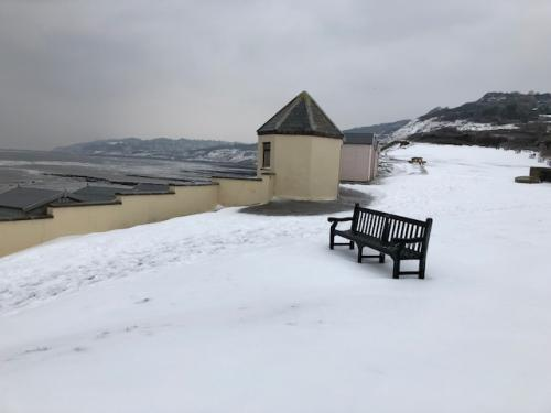 Charmouth LO in the snow